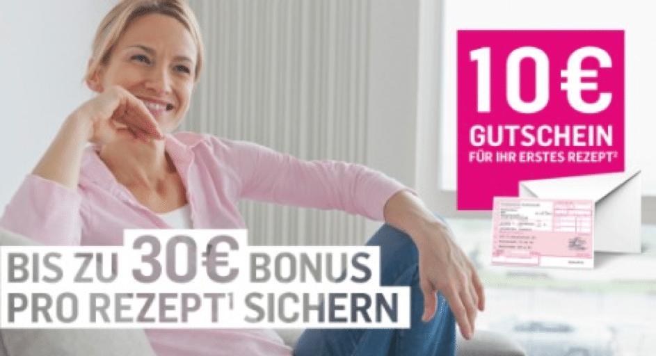 DocMorris Gutscheine - 10 Euro für das erste Rezept. Bis zu 30 Euro pro Rezept.