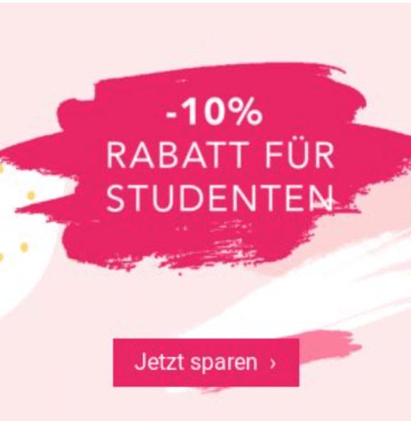 maedchenflohmarkt Gutschein 10% Rabattaktion für Schüler und Studenten