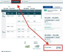 Tallink preiswerte Tagesrundreise
