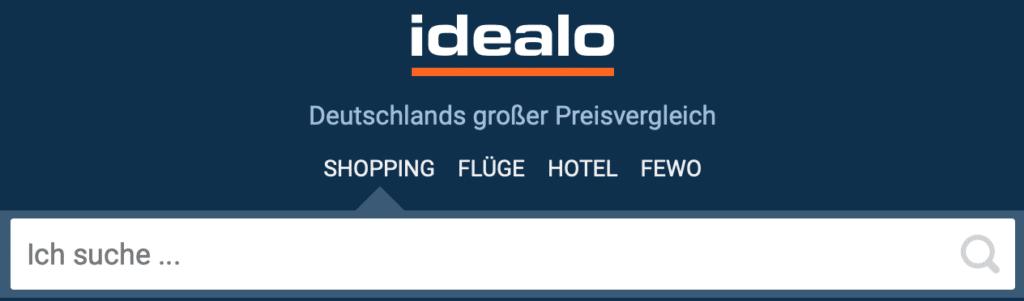 Spare bis zu 70% biem online Shoppen mit dem Preisvergleich von idealo