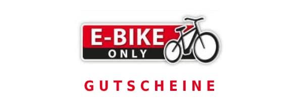 e-bike-only Gutscheine - Logo gross