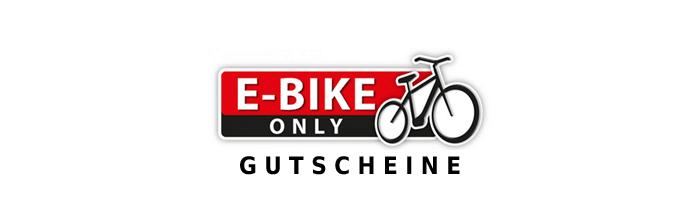 e-bike only gutscheine