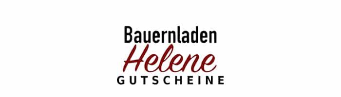 Bauernladen Helene Gutschein Logo oben