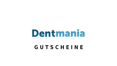 Dentmania Gutschein Logo Seite