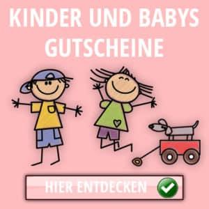 Kinder und Baby Gutscheine