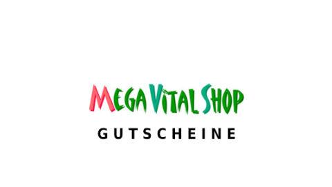 MegaVitalShop Gutscheine Logo Seite