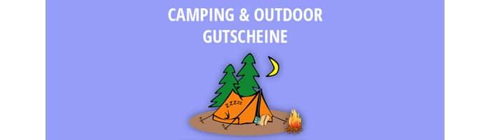 Camping und Outdoor Gutscheine