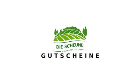 Die-Scheune-Delikatessen Gutschein Logo Seite