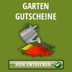 Garten Gutscheine