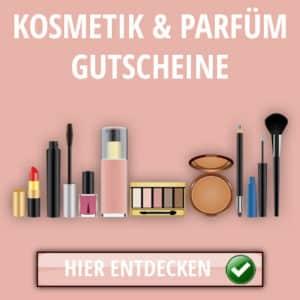 Kosmetik und Parfuem Gutscheine