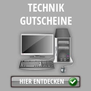 Technik Gutscheine