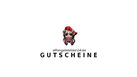 affengeilebilder24 Gutschein Logo Seite