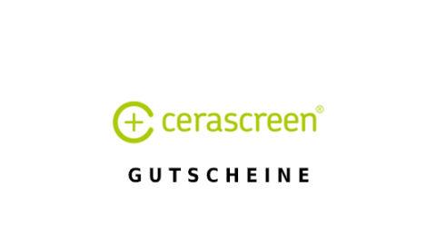 cerascreen Gutschein Logo Seite