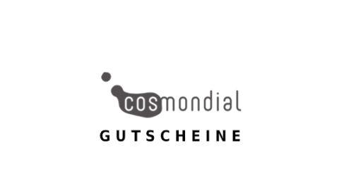 cosmondial Gutschein Logo Seite