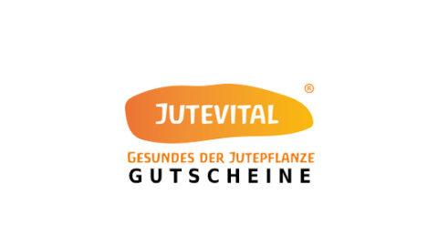 jutevital Gutschein Logo Seite