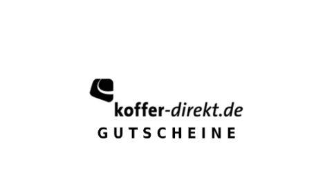koffer-direkt Gutschein Logo Seite