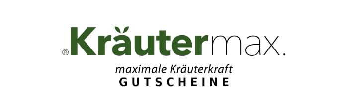 kraeutermax Gutschein Logo Oben