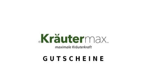 kraeutermax Gutschein Logo Seite