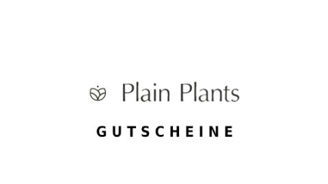 plainplants Gutschein Logo Seite