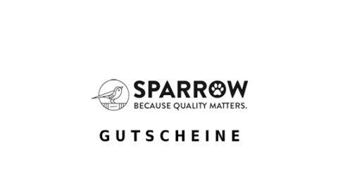 sparrowpet Gutschein Logo Seite