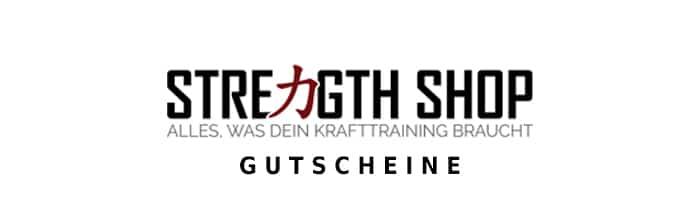 strengthshop Gutschein Logo Oben