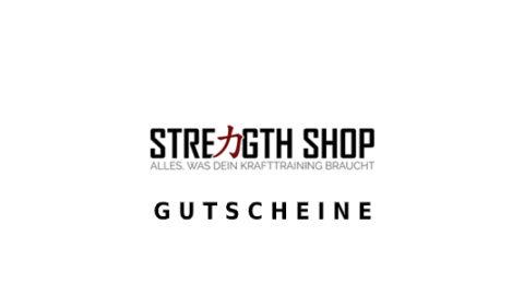strengthshop Gutschein Logo Seite