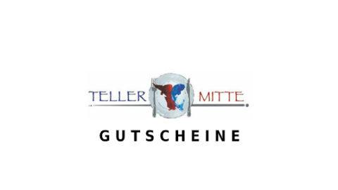 tellermitte Gutschein Logo Seite