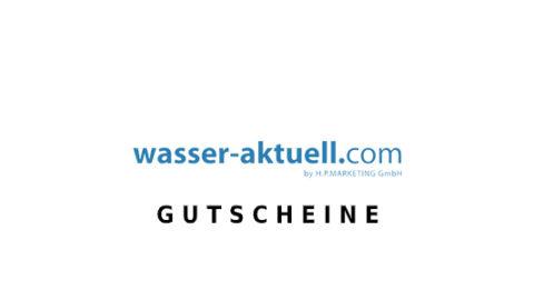 wasser-aktuell Gutschein Logo Seite