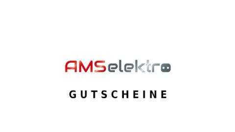 ams-elektro Gutschein Logo Seite