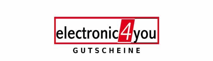 electronic4you Gutschein Logo Oben