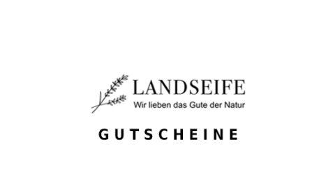 landseife Gutschein Logo Seite