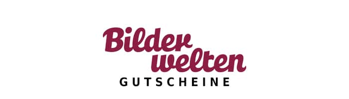 bilderwelten Gutschein Logo Oben