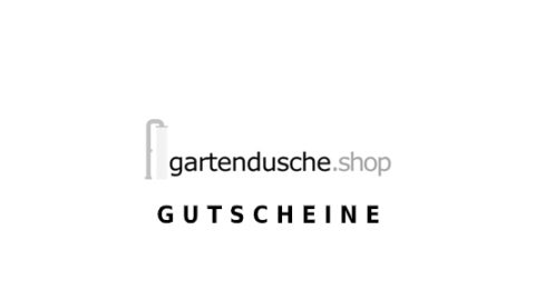 gartendusche.shop Gutschein Logo Seite