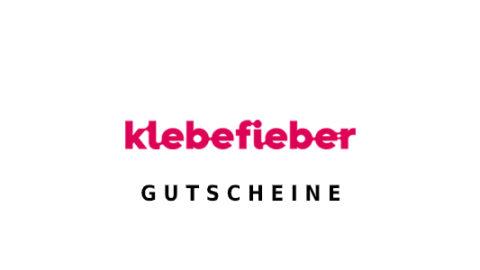 klebefieber Gutschein Logo Seite
