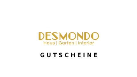 desmondo-shop Gutschein Logo Seite