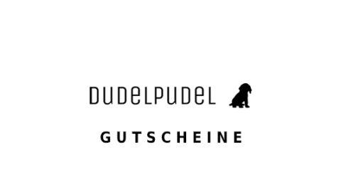 dudelpudel Gutschein Logo Seite
