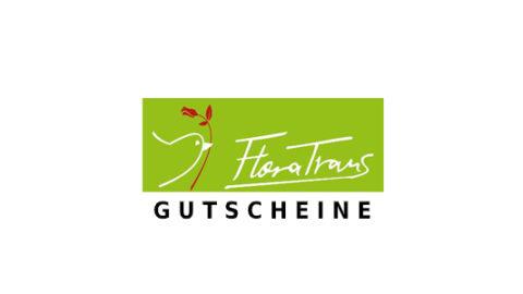 flora-trans Gutschein Logo Seite