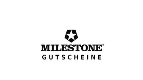 milestone Gutschein Logo Seite