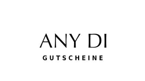 any-di Gutschein Logo Seite