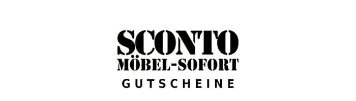 sconto Gutschein Logo Oben