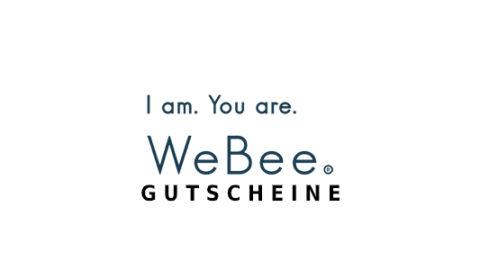 we-bee Gutschein Logo Seite